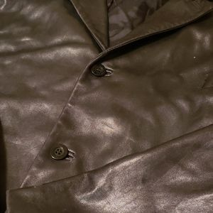 Claiborne outerwear leather jacket